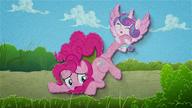 MAFH 04 Flurry Heart szarpie Pinkie Pie za kopyto