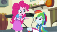 Pinkie Pie -I liked yours, Rainbow Dash- EGS1