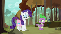 """Rarity """"everypony has to leave the nest"""" S8E11"""