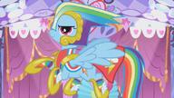 S01E14 Rainbow w przerobionej sukni