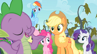 Spike 'Aw, don't mention it' S4E07