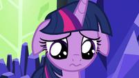 Twilight Sparkle incredibly discouraged S7E26