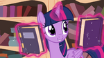 Twilight levitating books S4E18