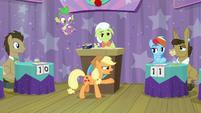 "Applejack ""a question about apples"" S9E16"