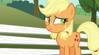 Applejack tells yet another lie S6E23