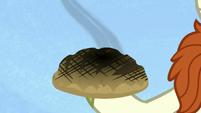 Burnt bread in Autumn Blaze's hoof S8E23