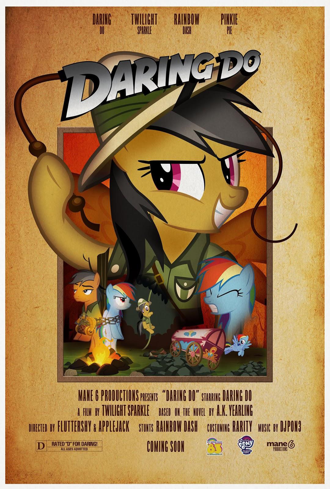 MLP Retro Week Indiana Jones parody poster.png