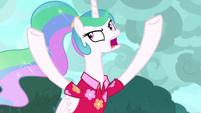 "Princess Celestia ""that horrible howling"" S9E13"