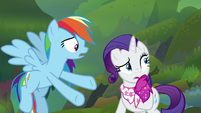 """Rainbow """"we can't hear him from back here"""" S8E17"""