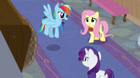 """Rainbow Dash """"chat with those announcers"""" BGES3"""