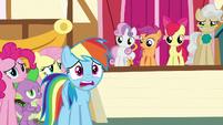 Rainbow Dash distressed -no way!- S9E12
