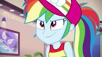Rainbow Dash feeling extra confident EGSB