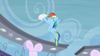 Rainbow Dash happy that she passed S4E21
