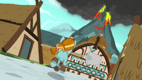 Rockhoof galloping back to the volcano S7E16