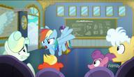 S06E24 Rainbow Dash żąda ciszy