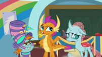 """Smolder """"that was a disaster"""" S9E15"""