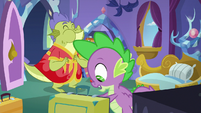 """Spike """"doesn't like having real dragons"""" S8E24"""