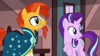Sunburst and Starlight look back at other ponies S7E24