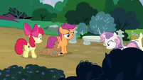 Sweetie and Zipporwhill return to Apple Bloom and Scootaloo S7E6