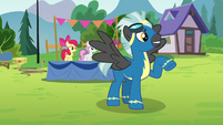 Thunderlane striking a cool pose S7E21