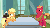 "Applejack ""you'd just ramble on and on"" S6E23"
