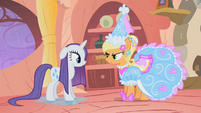 Applejack in fancy outfit S01E08