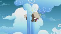 Dumb-Bell stuck in cloud pillar dizzy S5E25
