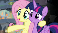 """Fluttershy """"found one of her descendants!"""" S7E20"""