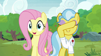 Fluttershy -you can open your eyes!- S7E5