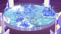 Full view of Cutie Map with Spike's image S7E15
