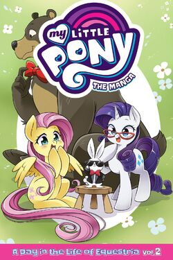 MLP The Manga - A Day in the Life of Equestria Vol. 2 cover.jpg