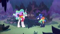 """Princess Luna """"I'm not copying you!"""" S9E13"""