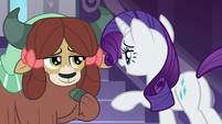 "Rarity ""not that, darling"" S9E7"