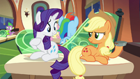"""Rarity """"the rustiest piece of junk I could get"""" S4E22"""