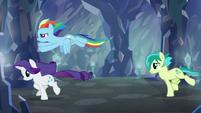 Sandbar following Rainbow and Rarity S8E22