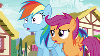 """Scootaloo """"she's only in the Reserves"""" S6E7"""