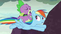 """Spike """"good thing you brought the official"""" S7E25"""