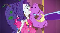 Thunder Guts licks Rarity's cheek again CYOE14a