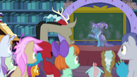 Trixie appears in a puff of smoke S8E15