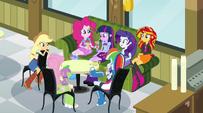 Twilight's circle of Canterlot High friends EG2