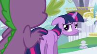 Twilight looking depressed S3E01