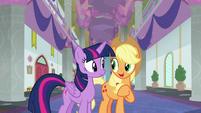"Applejack ""the fastest friendship problem"" S8E21"