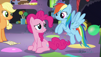 """Pinkie """"the trip was really hard"""" S5E11"""