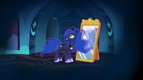 Princess Luna all alone in her nightmare S7E10