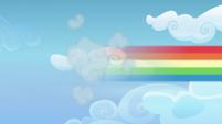 Rainbow Dash speeds off after her cutie mark S6E24