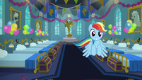 Rainbow flying with another idea S6E7