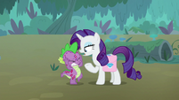 """Rarity """"I was just at Zecora's"""" S8E11"""