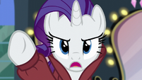 """Rarity """"of ruining that ivory scarf!"""" S5E15"""