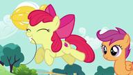 S05E19 Apple Bloom zabiera swój balonik