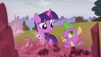 Spike --there's the whole missing castle thing-- S5E25
